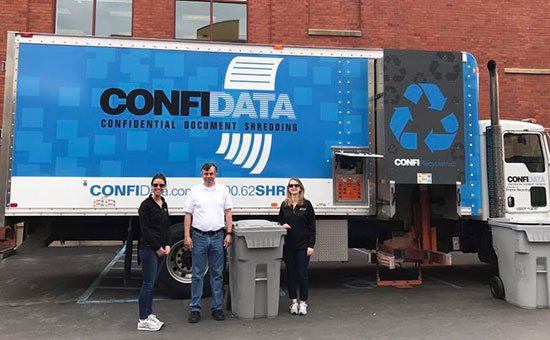 ConfiData's mobile shred truck
