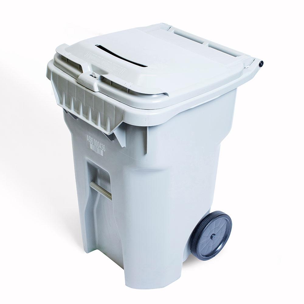 96 gallon paper bin