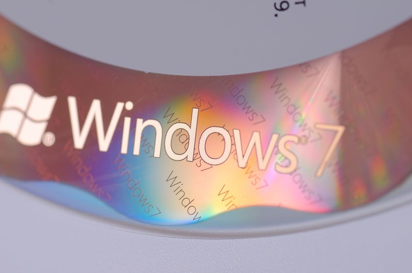 windows 7 disk